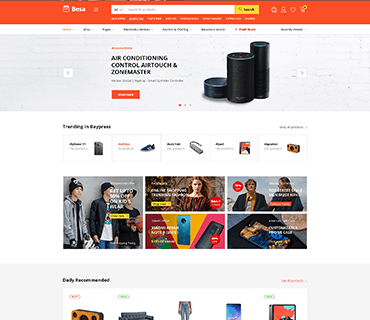 Besa - Elementor Marketplace WooCommerce Theme